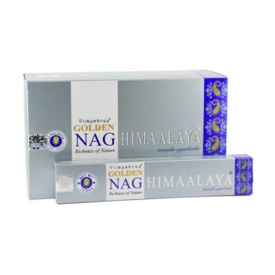 Betisoare parfumate Golden Nag Himaalaya