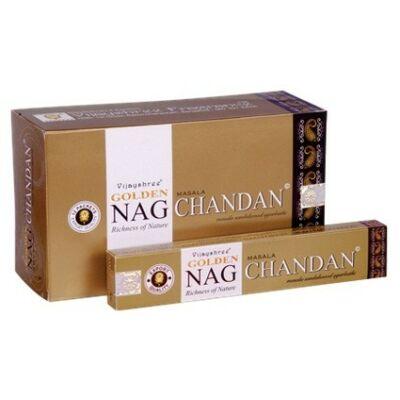 Betisoare parfumate Golden Nag Chandan Agarbatti