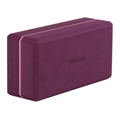 Caramida Yoga Basic Bordeaux - Yogistar - 22x11x7.4cm