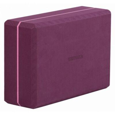 Caramida Yoga Spuma Bordeaux - Yogistar - 22.6x15.3x7.8cm