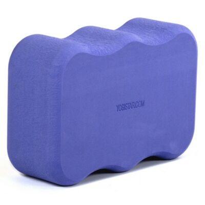 Caramida Yoga Wave Violet - Yogistar - 22.5x15x7.5cm