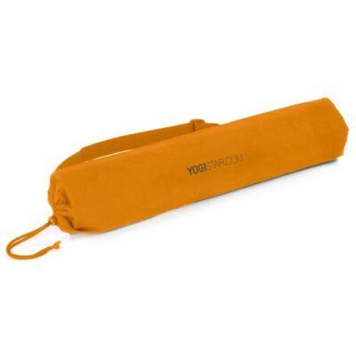Husa Saltea Yoga Basic Bumbac Orange - pentru saltele de 65 cm latime