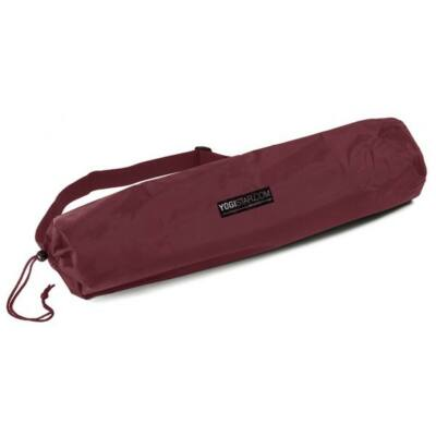Husa Saltea Yoga Basic Nylon Bordeaux  - pentru saltele de 65 cm latime
