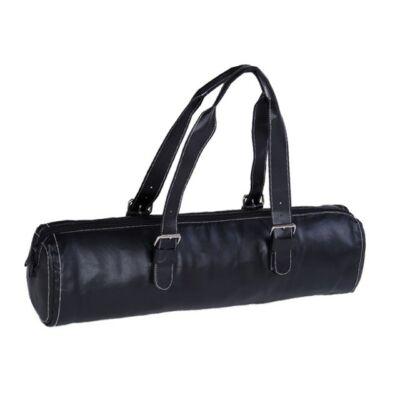 Husa Saltea Yoga Fashion neagra - pentru saltele de 62 cm latime
