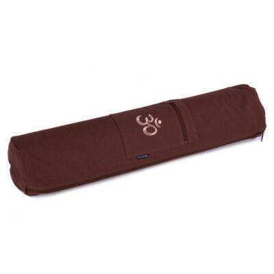 Husa Saltea Yoga OM Choco Brown - pentru saltele de 65 cm latime