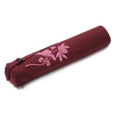 Husa Saltea Yoga Pro Art Collection - Lotus Flower – bumbac – pentru saltele de 65 cm latime