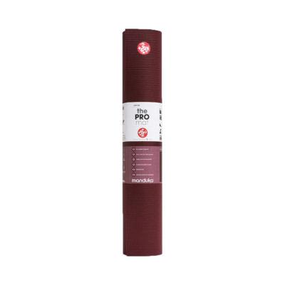 Saltea Yoga - Manduka Pro Yoga Mat - Verve Red - 180x61x0.6cm