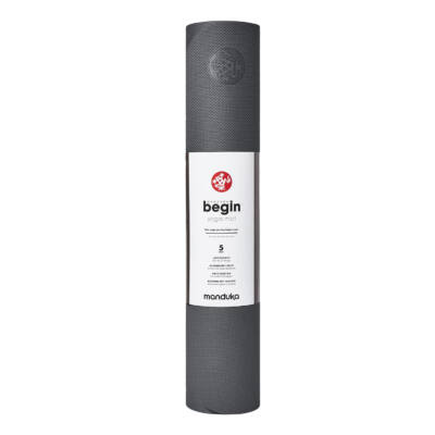 Saltea Yoga - Manduka - Basic - Steel Grey - 172x61x0.5 cm