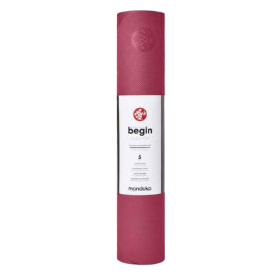 Saltea Yoga - Manduka - Begin - Pink Japan - 172x61x0.5 cm
