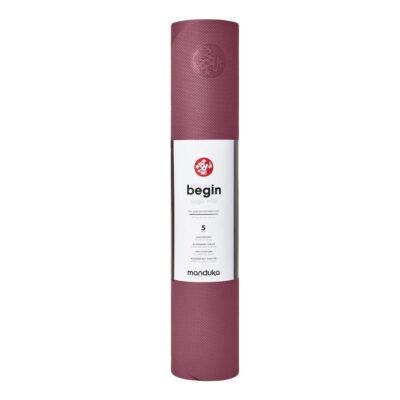 Saltea Yoga - Manduka - Begin - Rose - 172x61x0.5 cm