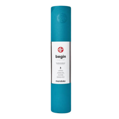 Saltea Yoga - Manduka - Begin - Bondi Blue - 172x61x0.5 cm