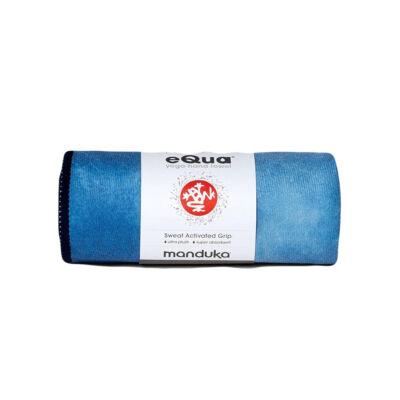 Prosop de mana Yoga Manduka equa® - Camo Tie Dye Blues -  41 x 67cm