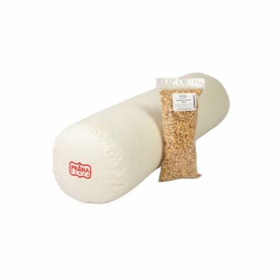 Perna cilindrica bolster Prana cu alac 50x15cm + umplutura cadou 100g