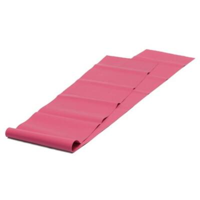 Banda Elastica Pilates Soft Rosu (Latex Free)