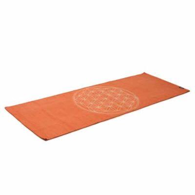 Covor Yoga din bumbac - Floare vietii - Yogistar - 192cm x 72cm x 3cm