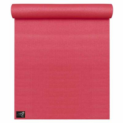 Saltea Yoga Basic Rosu Carmin - Yogistar - 183x61x0.4cm
