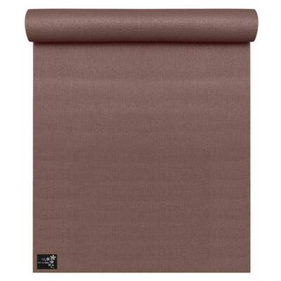 Saltea Yoga Basic Choco Brown - Yogistar - 183x61x0.4cm