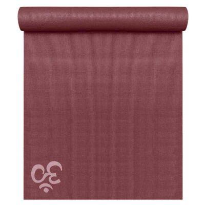 Saltea Yoga Basic OM Bordeaux - Yogistar - 183x61x0.4cm