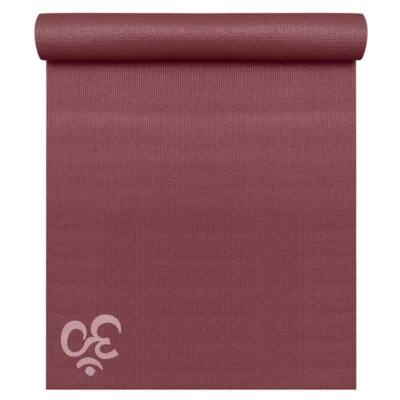 Saltea Yoga Basic OM Bordeaux - Yogistar - 183x61x0.4cm