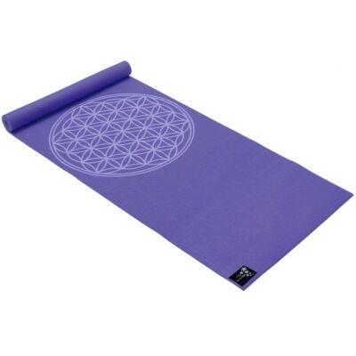 Saltea Yoga Basic Floarea Vietii violet - Yogistar - 183x61x0.4cm