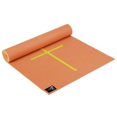 Saltea Yoga Plus cu marcaje Mango - Yogistar - 195x61x0.5cm