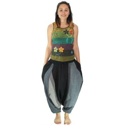 Pantaloni yoga tip salvari - Gri