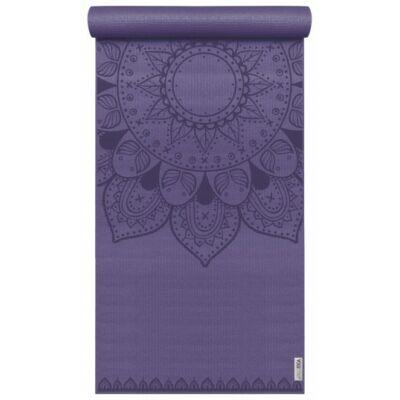 Saltea Yoga Basic - Art Collection - Harmonic Mandala - Mov - Yogistar - 183x61x0.4cm